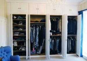 Alcove wardrobes