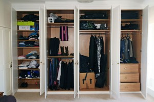 Alcove wardrobes london