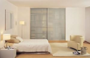 Aluminium sliding wardrobe
