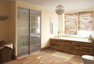 Bathroom sliding wardrobe
