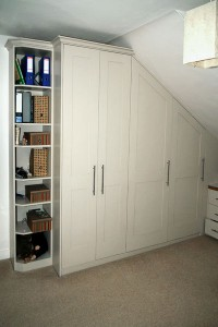 made to measure attic wardrobe