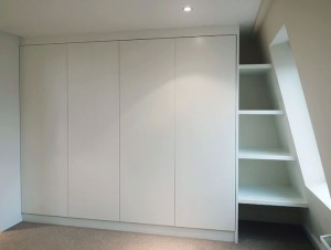 fitted wardrobes in attic rooms