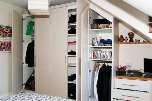 loft wardrobe solution
