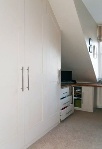 Fitted wardrobes loft