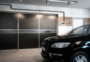 Garage sliding doors