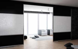 Hallway sliding dividers