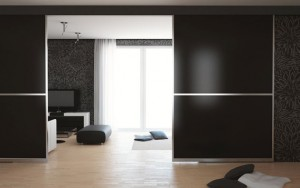 Room divider glass