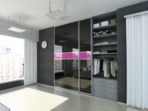 Sliding wardrobe door