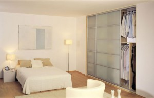 Sliding wardrobes frosted