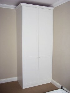 Wardrobe with drawer