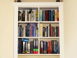 bespoke alcove bookcases