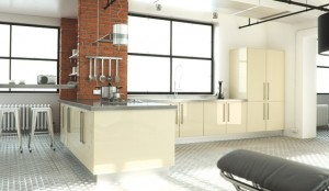 ultragloss cream kitchen
