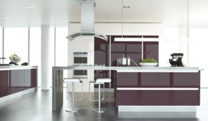 ultragloss fitted kitchen
