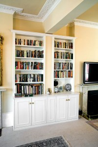 fitted alcove furniture