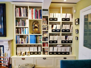 fitted shelving units