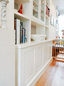 fitted shelves alcove london