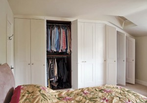 sloped ceiling wardrobe