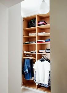 shallow wardrobe london