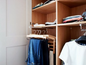 shallow wardrobe design