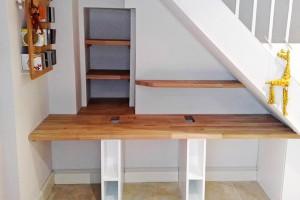 study under stairs
