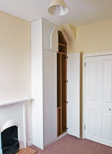Fitted Bedroom Loft Wardrobe