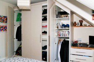 Built In Loft Wardrobe