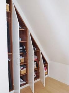 Loft Wardrobes Interior