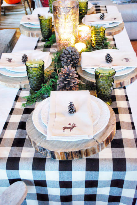 country-christmas-table-setting