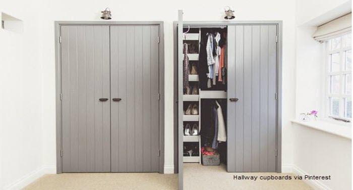 Hallways And Offices Joinery Ideas, Hallway Storage Furniture Ideas